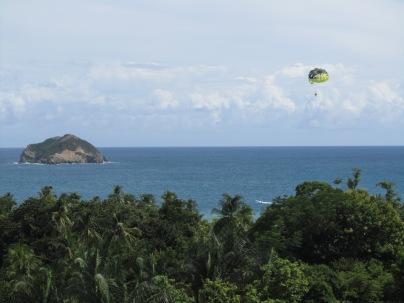 View to Manuel Antonio